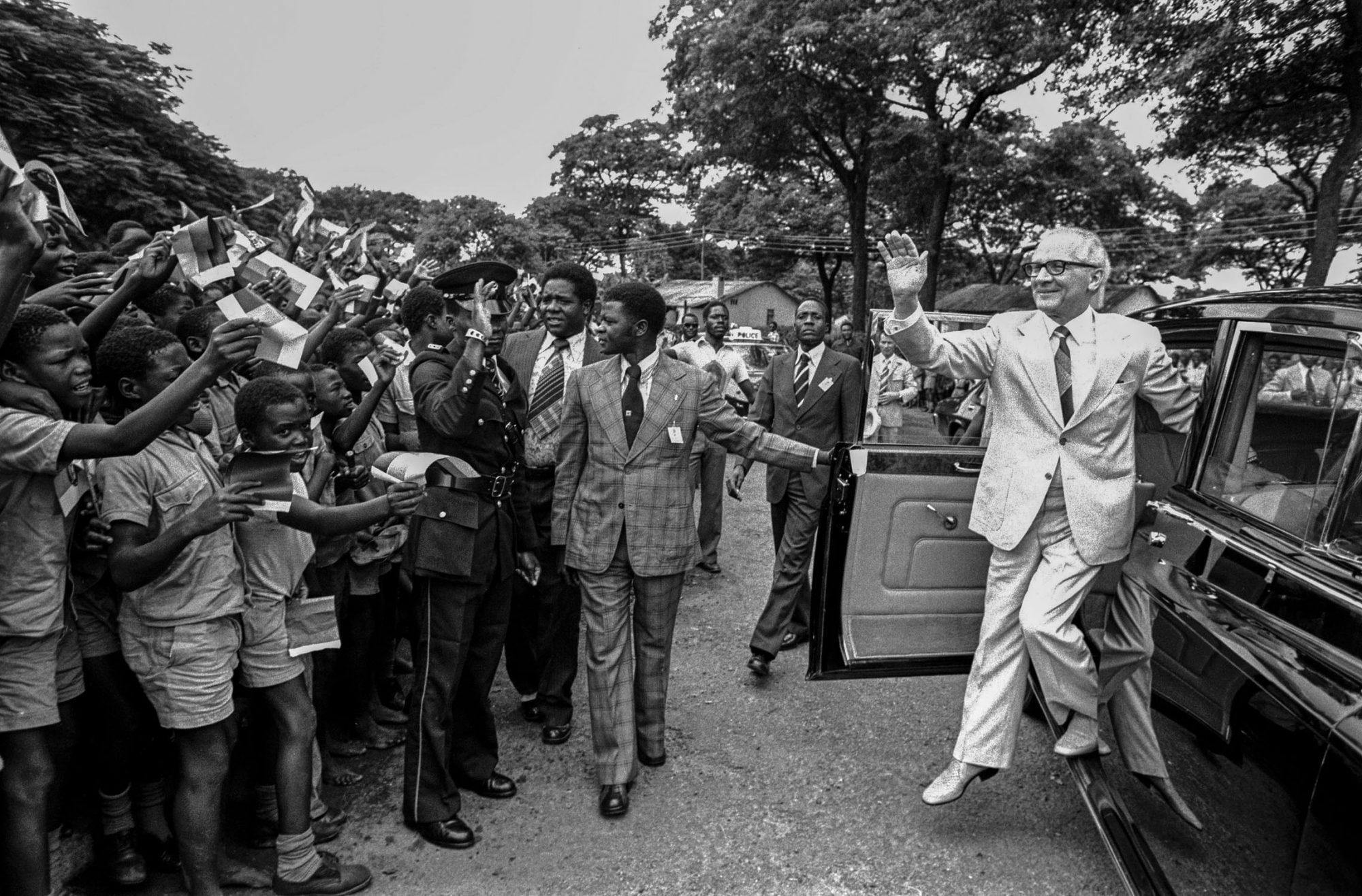 Erich Honecker in Sambia