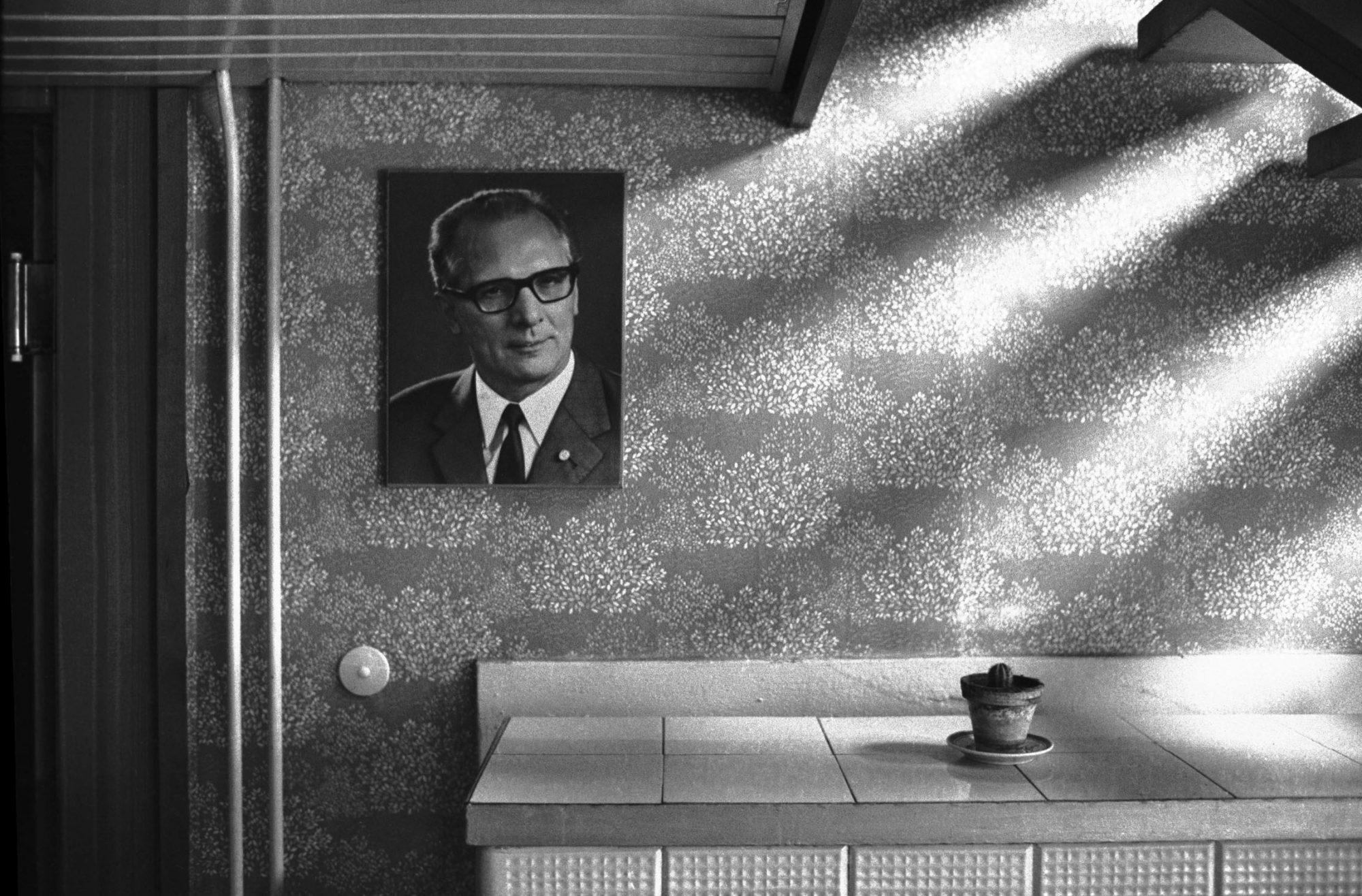 Honecker Foto mit Kaktus