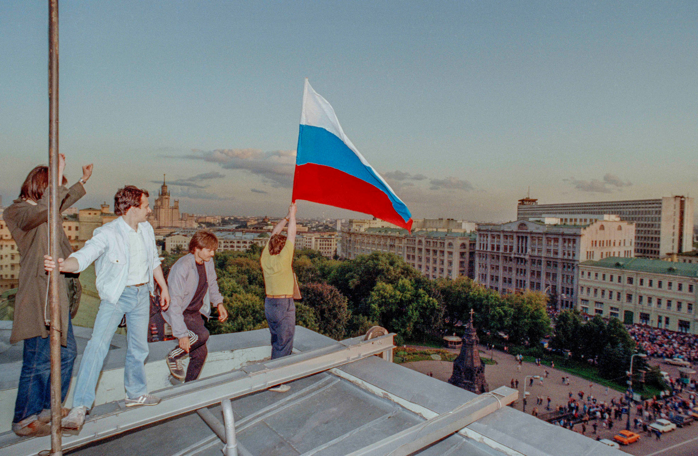 Moskau nach dem Putsch